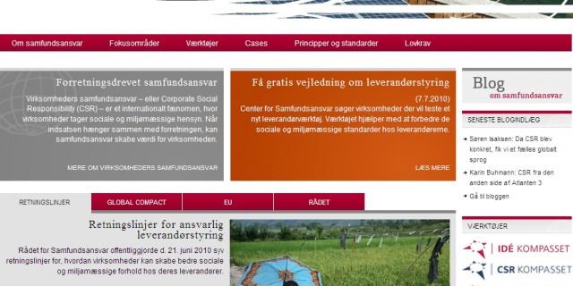 Praktisk vejledning og inspiration til CSR arbejdet